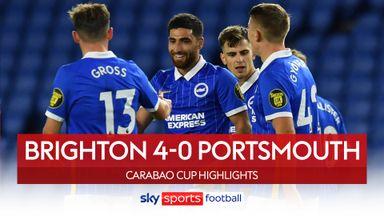 Brighton 4-0 Portsmouth