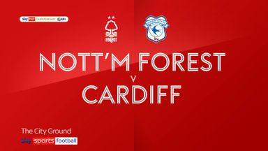 Nottingham Forest 0-2 Cardiff