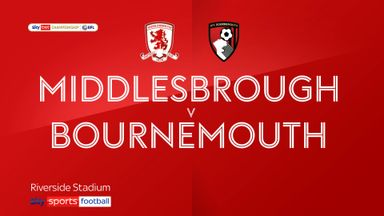 Middlesbrough 1-1 Bournemouth