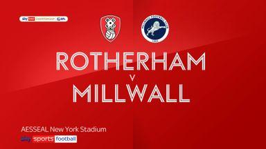 Rotherham 0-1 Millwall