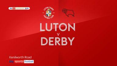 Luton 2-1 Derby