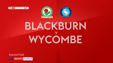 Blackburn 5-0 Wycombe