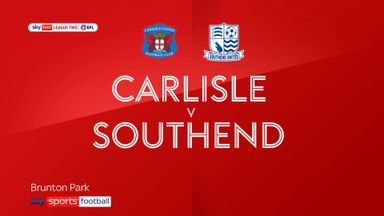 Carlisle 2-0 Southend