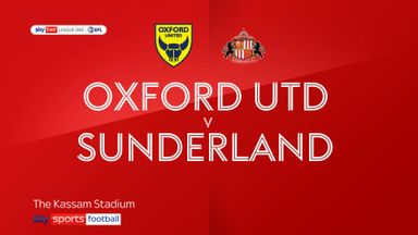 Oxford 0-2 Sunderland