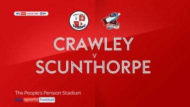 Crawley 1-0 Scunthorpe