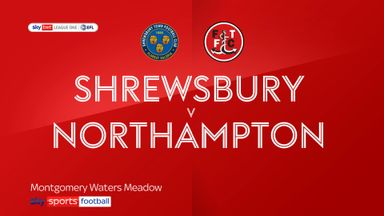Shrewsbury 1-2 Northampton