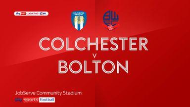 Colchester 2-0 Bolton