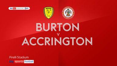 Burton 2-1 Accrington