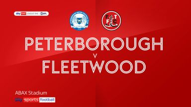 Peterborough 2-1 Fleetwood