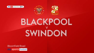 Blackpool 2-0 Swindon