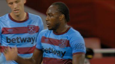 Antonio equalises! (45)