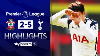 Son hits four as Spurs thrash Saints