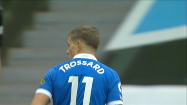Trossard tries his luck (57)
