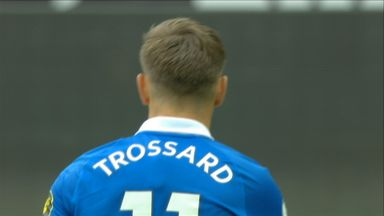 Trossard hits the post! (71)