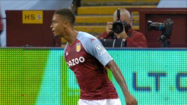 Konsa heads Villa in front (63)