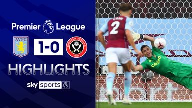 Martinez saves pen as Villa edge 10-man Blades
