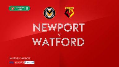 Newport 3-1 Watford