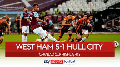 West Ham 5-1 Hull