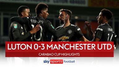 Luton 0-3 Man Utd