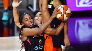 WNBA SF Gm 2: Sun 75-83 Aces