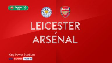 Leicester 0-2 Arsenal