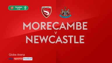 Morecambe 0-7 Newcastle
