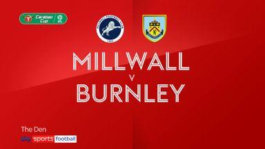 Millwall 0-2 Burnley