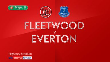 Fleetwood 2-5 Everton