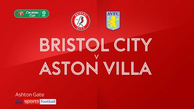 Bristol City 0-3 Aston Villa