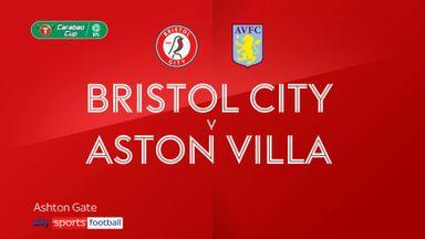 Bristol City 0-3 Aston Villa