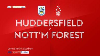 Huddersfield 1-0 Nott'm Forest
