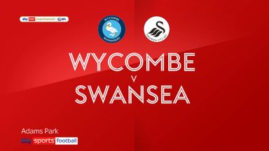 Wycombe 0-2 Swansea