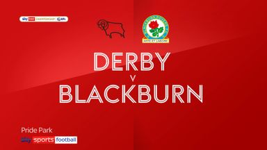 Derby 0-4 Blackburn