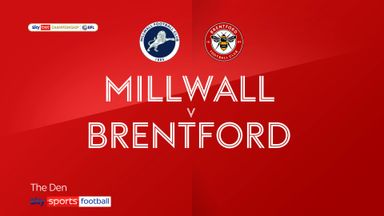 Millwall 1-1 Brentford