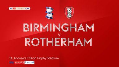 Birmingham 1-1 Rotherham