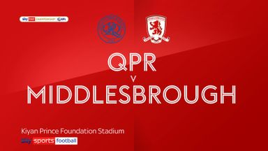 QPR 1-1 Middlesbrough