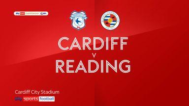 Cardiff 1-2 Reading