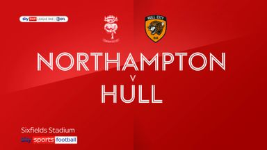 Northampton 0-2 Hull