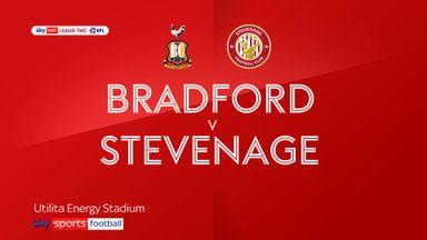 Bradford 2-1 Stevenage