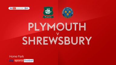 Plymouth 1-1 Shrewsbury