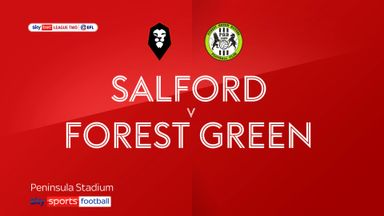 Salford 0-0 Forest Green