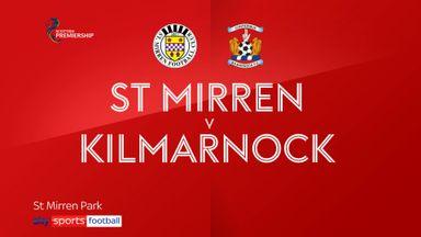 St Mirren 0-1 Kilmarnock
