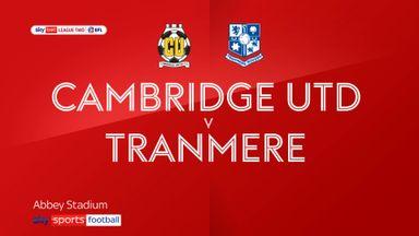 Cambridge Utd 0-0 Tranmere