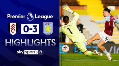 Grealish on target as Villa cruise past Fulham