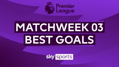 PL Best Goals: Matchweek 3