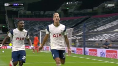 Reguilon sets up Lamela for equaliser