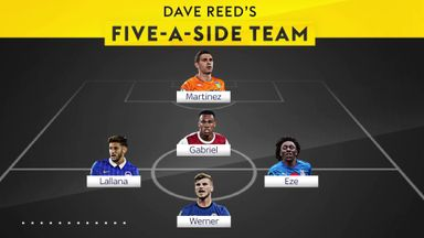 The best 5-a-side team from this summer's transfers