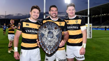 Taranaki claim Ranfurly Shield in thriller