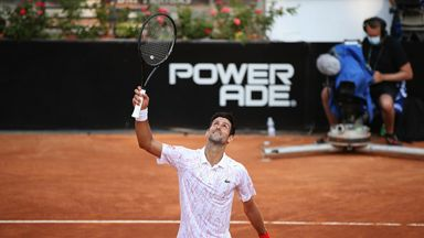 Djokovic advances to Rome Open final