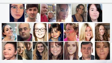 Manchester attack victims